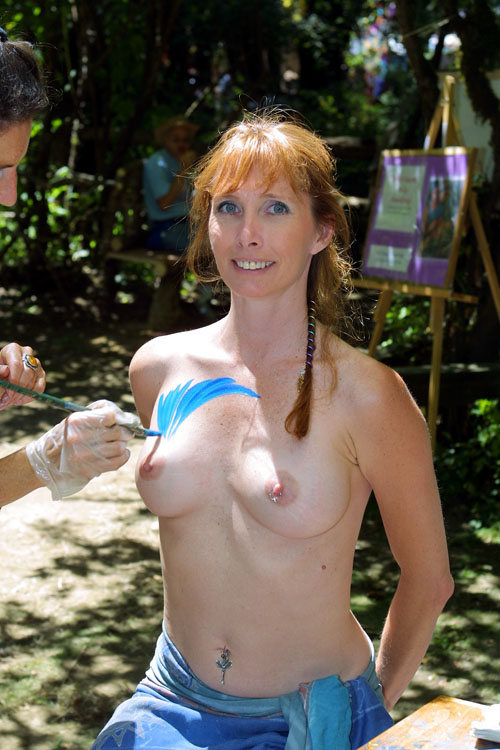 Oregon country fair naked women